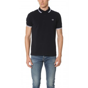 Slim Fit Twin Tipped Fred Perry Shirt
