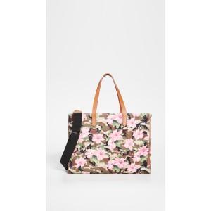 California Hibiscus Camouflage Bag