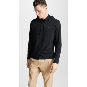 Long Sleeve Hooded Tee Shirt