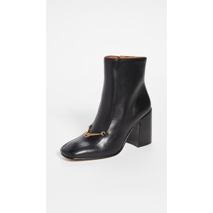 Equestrian Link 85mm Ankle Booties