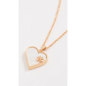Heart Semi Precious Pendant Necklace