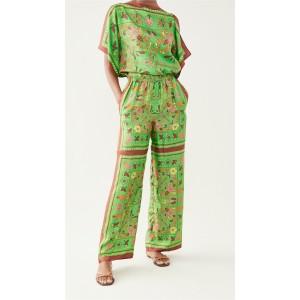 Silk Scarf Pants