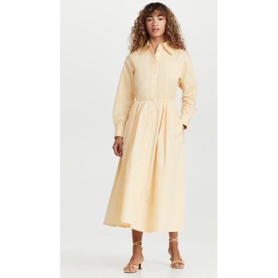 Eleanor Cotton Poplin Dress