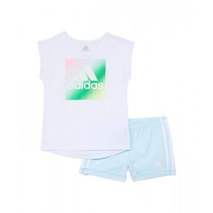 Dance Tee & Shorts Set (Toddleru002FLittle Kids)