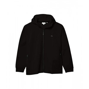 Long Sleeve Solid Full Zip with Silicon Croc & Lacoste Badge at Back Motion