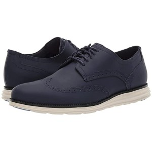 Cole Haan Original Grand Wing Chorino Matte Leather Marine Matte