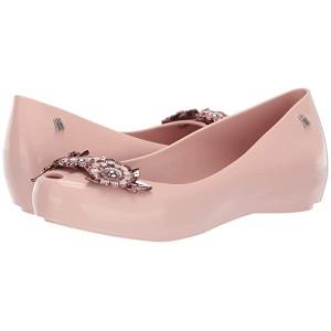 Melissa Shoes Ulightragirl Flower Chrome Me AD Pink Glitter