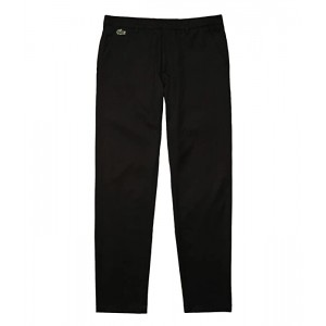 Lacoste Solid Gabardine Golf Pants Black