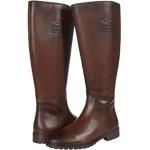 COACH Fynn Leather Boot II Wide Walnut