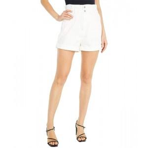 Levis Womens High Rise Paperbag Shorts A La Mode