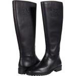 COACH Fynn Leather Boot Black