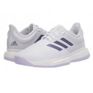 adidas SoleCourt Footwear White/Tech Purple/Legacy Purple