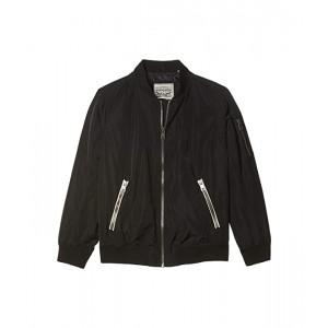 Levis Plus Size Classic Newport Poly Bomber Jacket Black