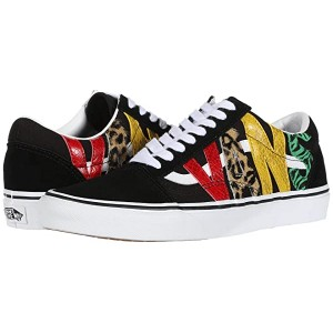 Vans Old Skool Multi Animal Rasta/Black
