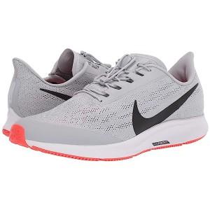 Nike FlyEase Air Zoom Pegasus 36 Wolf Grey/Black/White/Bright Crimson