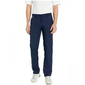Lacoste Solid Gabardine Golf Pants Navy Blue
