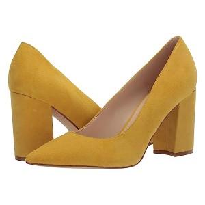 Nine West Cara Pump Yellow