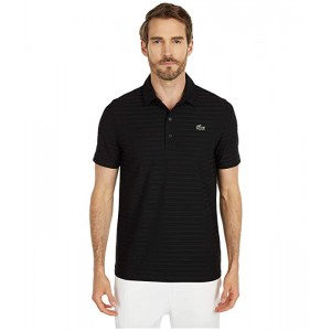Short Sleeve Jacquard Polo