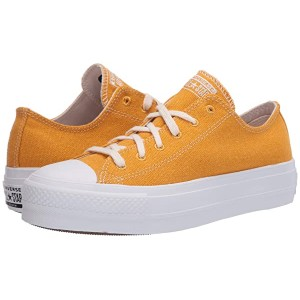 Converse Renew Cotton Chuck Taylor All Star Lift - Ox Sunflower Gold/White/White