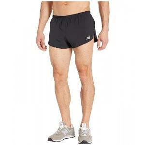 New Balance 3 Accelerate Split Shorts Black