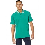 Short Sleeve ND Side Rib Hit Semi Fancy Polo