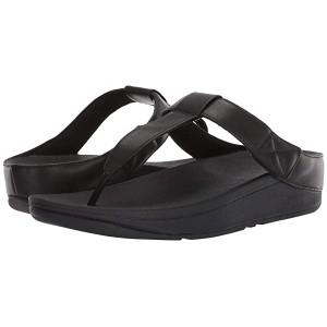 FitFlop Mina Toe-Thong All Black