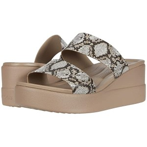 Crocs Brooklyn Mid Wedge Multi/Stucco