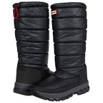 Hunter Original Insulated Snow Boot Tall Black