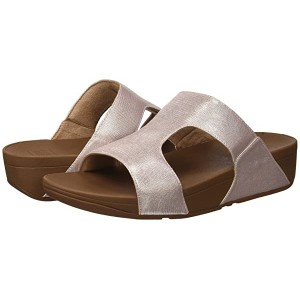 FitFlop H-Bar Shimmerlizard Nude
