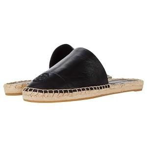 Tory Burch Color-Blocked Flat Espadrille Slide Perfect Black/Perfect Black