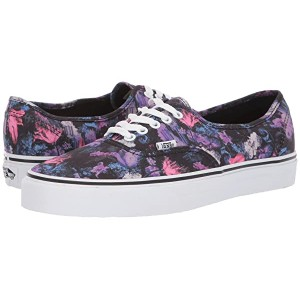 Vans Authentic Warped Floral Black/True White