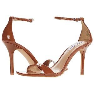 Steve Madden Mobilize Sandal Cognac Patent