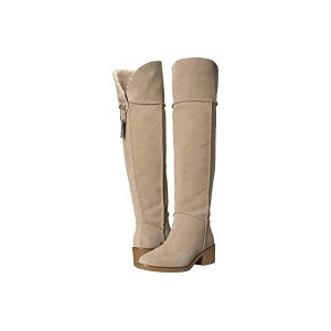 COACH Janelle Boot Oat/Natural Mixed Material