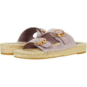 Tory Burch Selby Two-Band Espadrille Slide Cipria