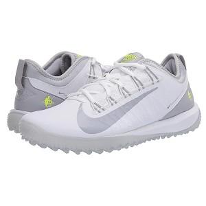 Nike Alpha Huarache 7 Pro Turf Lax White/Wolf Grey