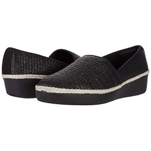 FitFlop Casa Espadrille Loafers Black