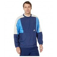Nike NSW Jacket Woven Crew Color Block Midnight Navy/Pacific Blue/White