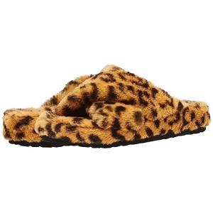 Steve Madden Fuzed Slipper Leopard