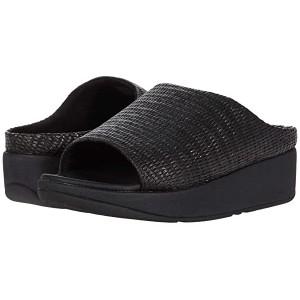 FitFlop Imogen Basket Weave Slides All Black