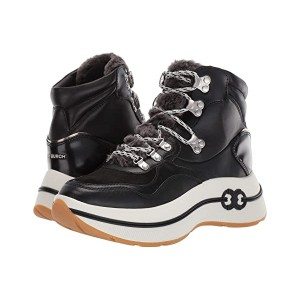 Tory Burch Gemini Link Platform Hiking Boot Black/Black