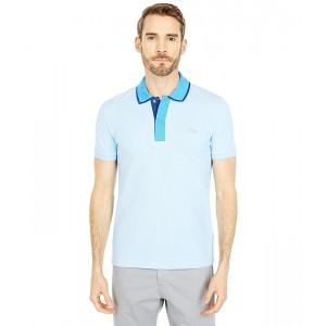 Short Sleeve Semi Fancy On Collar Placket Slim