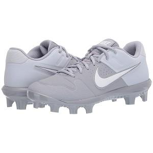 Nike Alpha Huarache Varsity Low MCS Wolf Grey/White/Pure Platinum