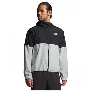 The North Face Flyweight Hoodie Tin Grey/TNF Black