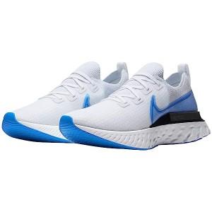 Nike React Infinity Run FK True White/Photo Blue/White