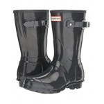 Hunter Original Short Gloss Rain Boots Dark Slate
