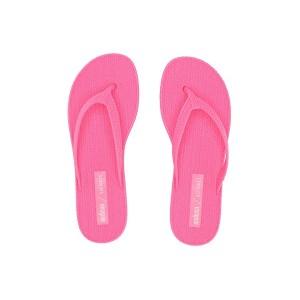 Melissa Shoes x Salinas Braided Summer Flip Flop Bright Pink