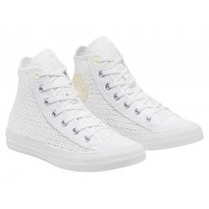 Converse Chuck Taylor All Star Crocheted - Hi White/Barely Volt/White