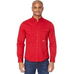 Tommy Hilfiger Hargrove Twill Captain Shirt Chili Pepper