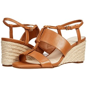 Cole Haan Arlta Espadrille Wedge Sandal Pecan Leather/Suede