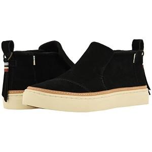 TOMS Paxton Water-Resistant Slip-Ons Black Suede